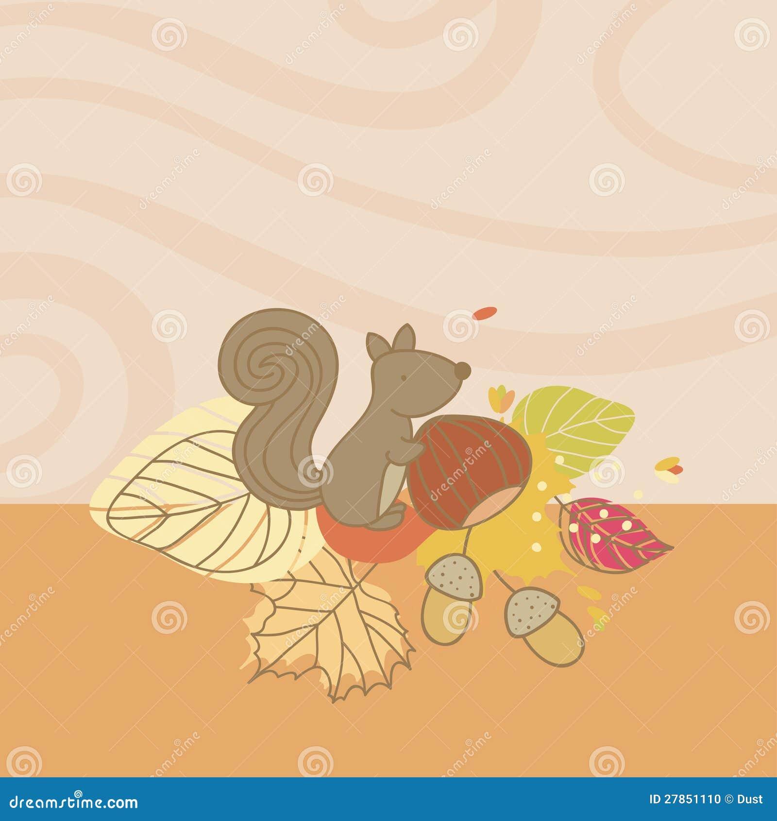Z Wiewiórką jesień Karta