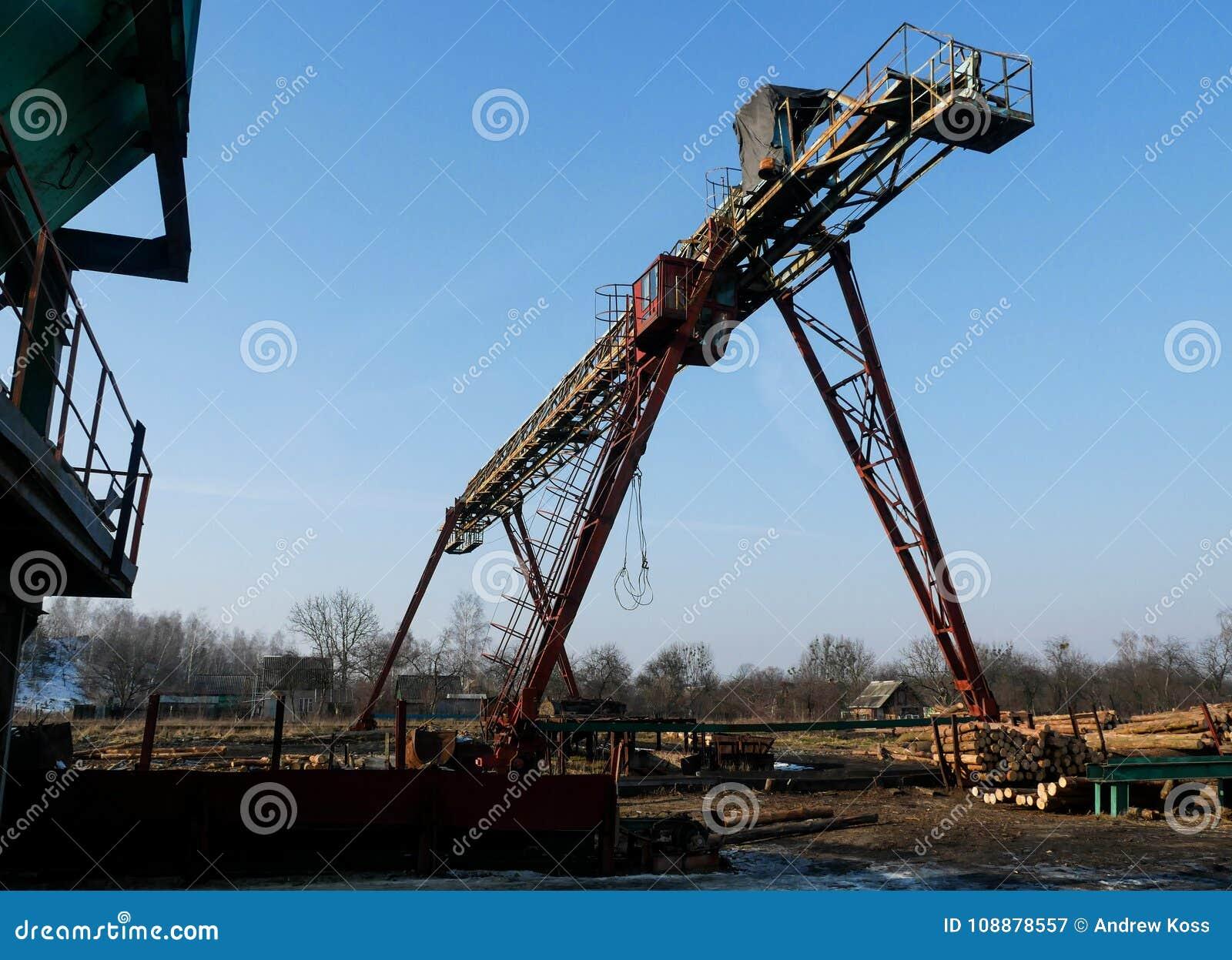 Zaagmolen industriële machine