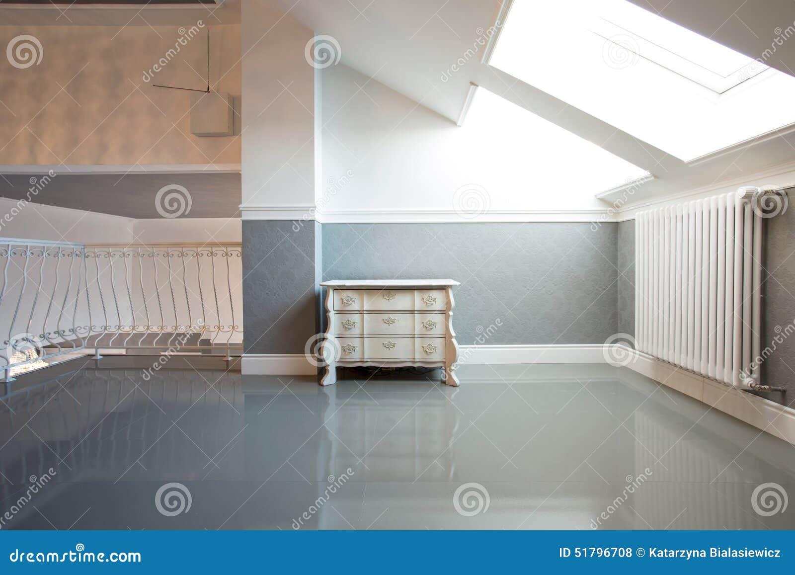 Zaal in de zolder
