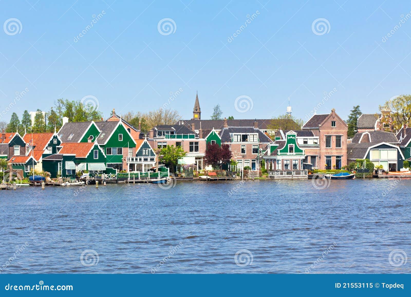Zaanse Schans in Olanda