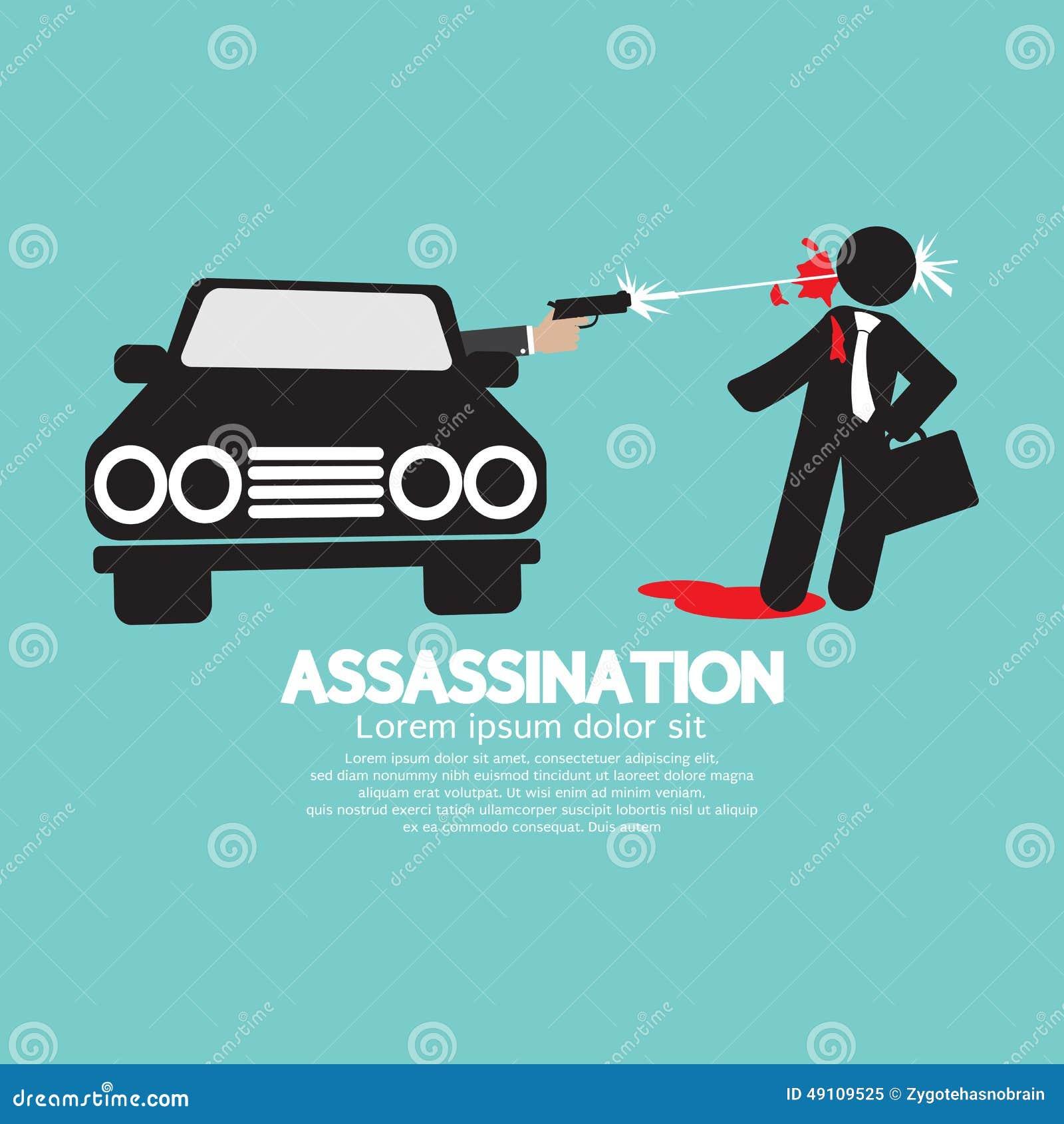 Zabójstwo strzelanina Od samochodu