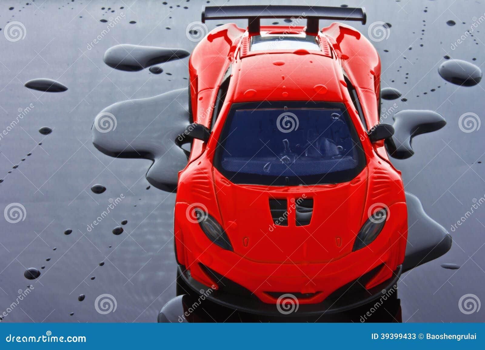 Zabawkarski sporta samochód