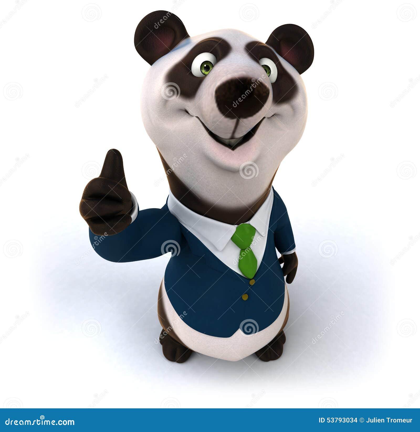 Zabawy panda