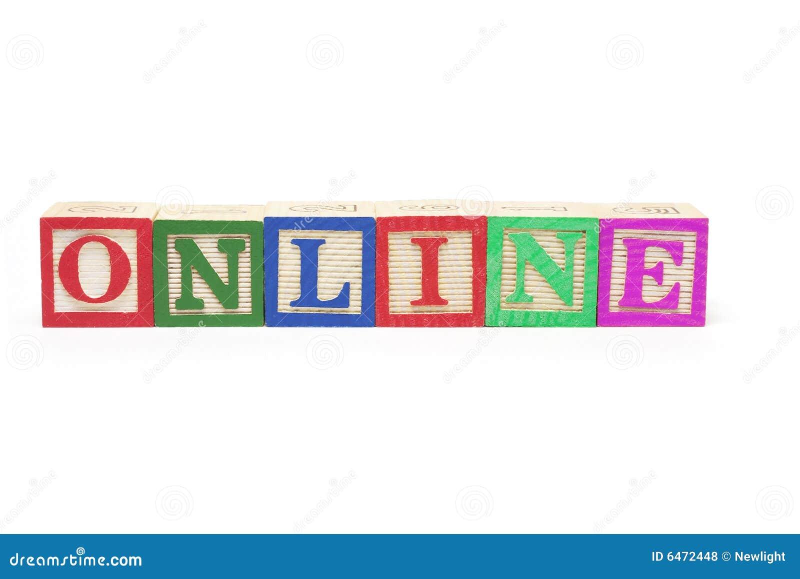 Zablokuj online alfabet
