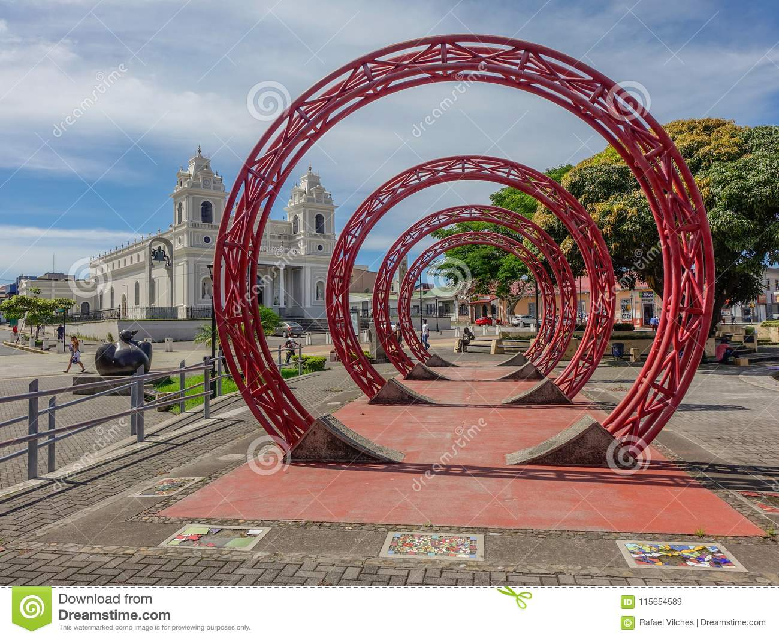 Zabytek w centre San Jose Costa Rica