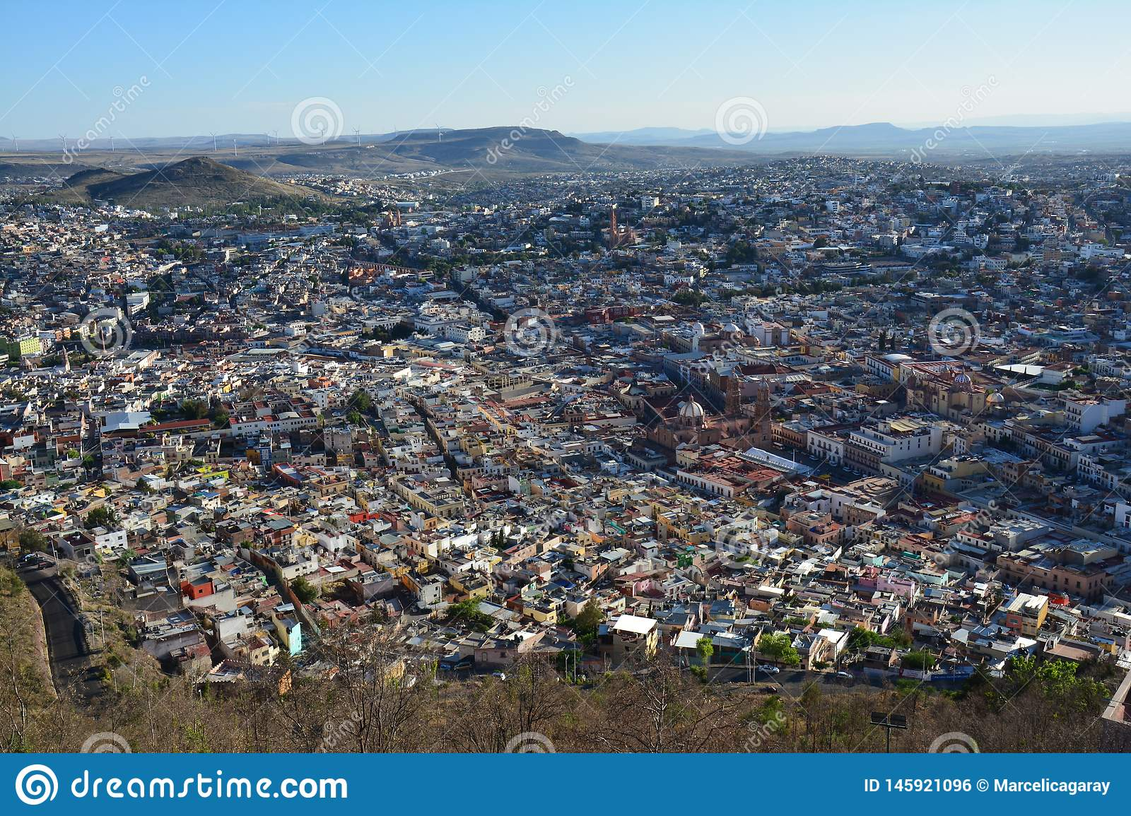 Zacatecas Oude Stad in Mexico