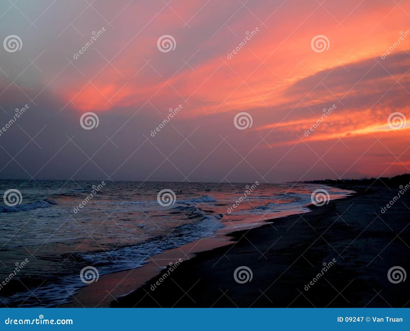 Zachód słońca na florydę