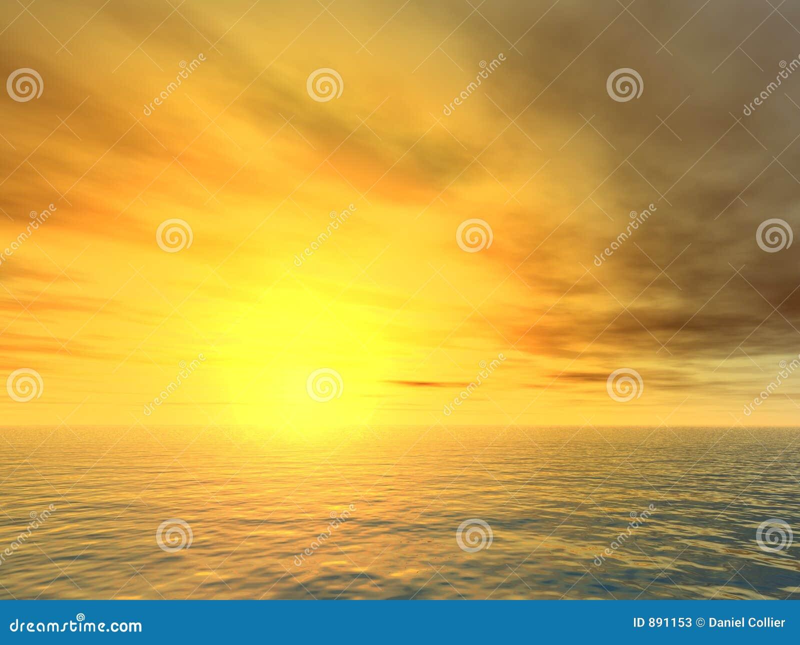 Zachód słońca nad morza czarnego niewybaczalnym