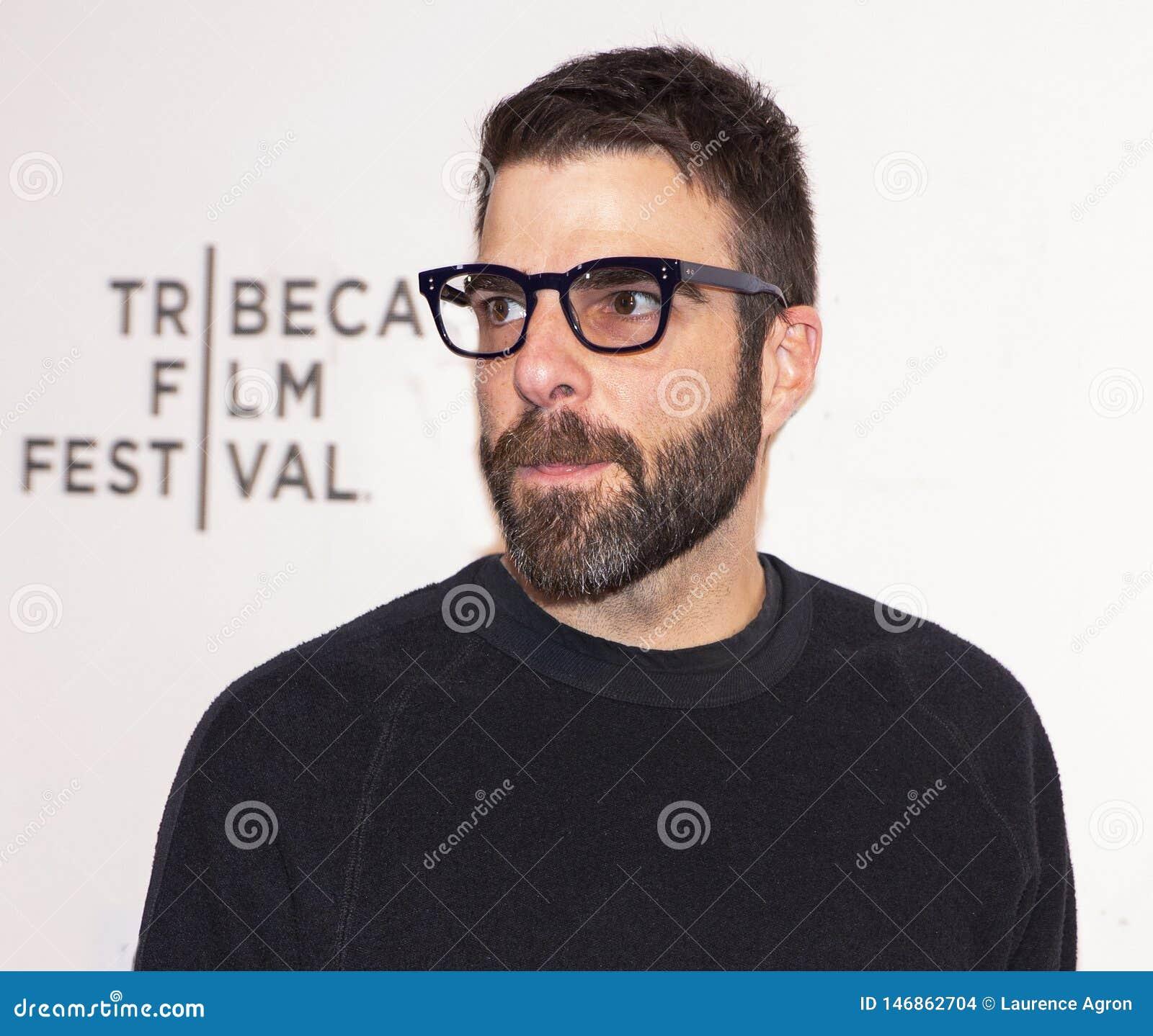 """Zachary Quinto на мировой премьере """"вчера """"на фестивале фильмов 2019 Tribeca"""