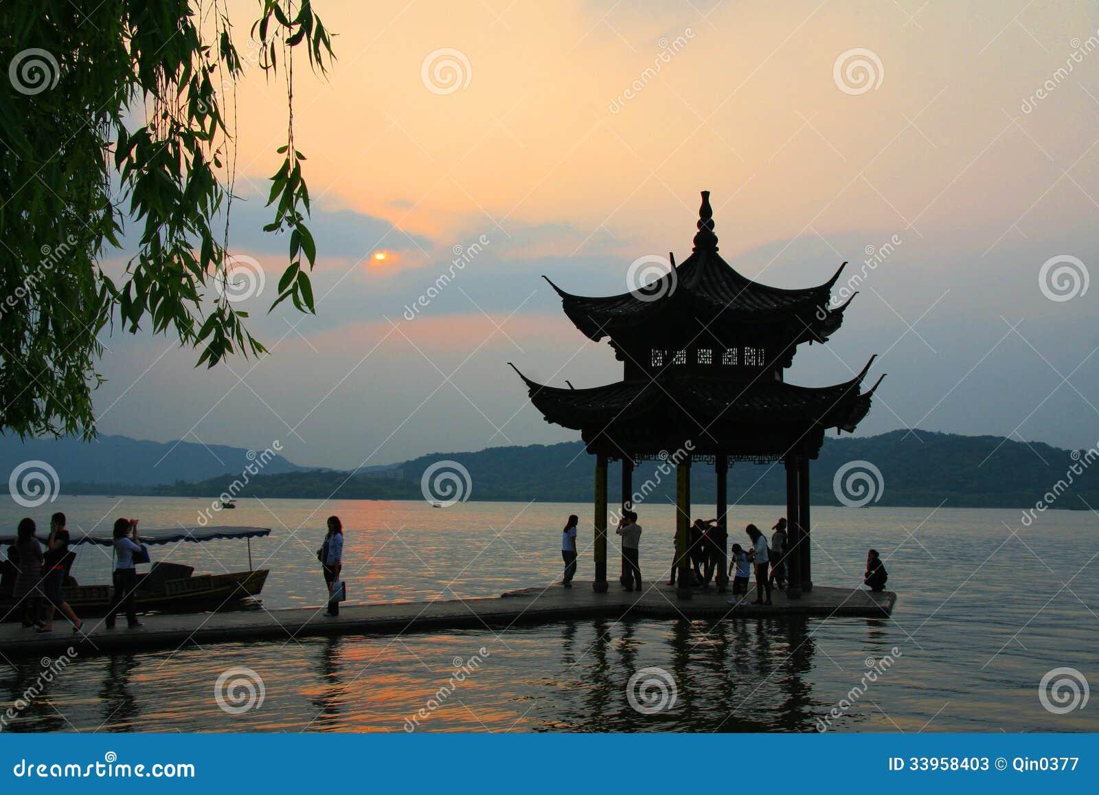 Zachodni jezioro w Hangzhou