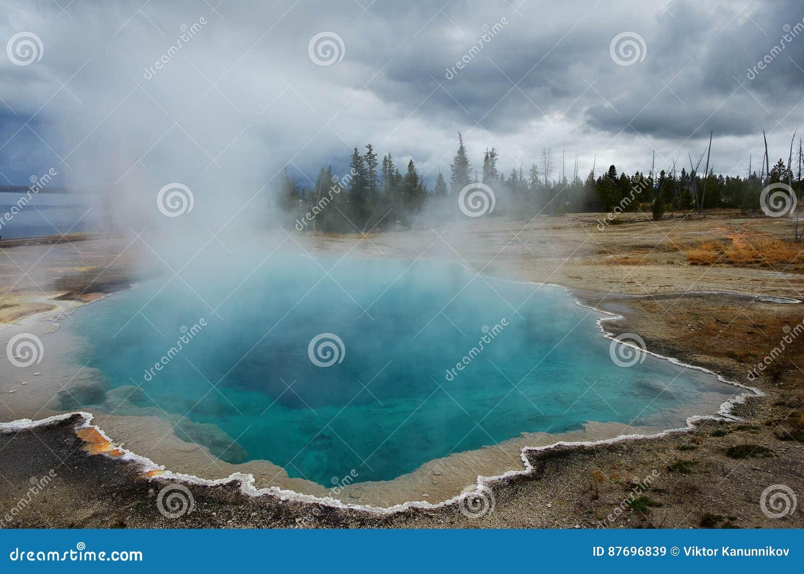 Zachodni kciuka gejzeru basen, Yellowstone