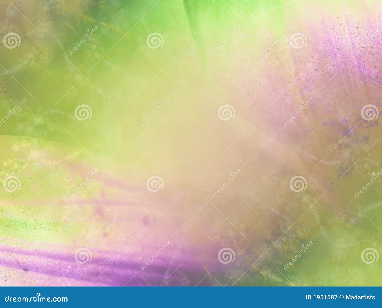 Zachte Groene Purpere Textuur