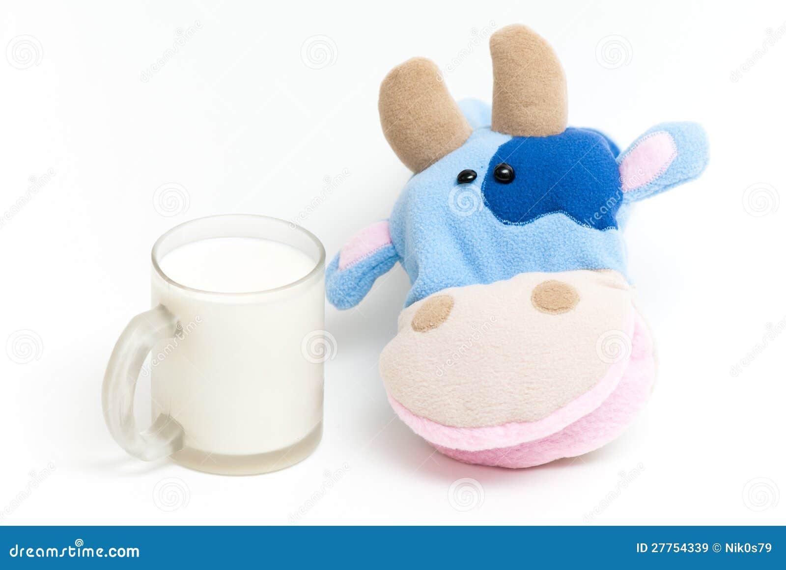 Zachte het stuk speelgoed van de hand koe