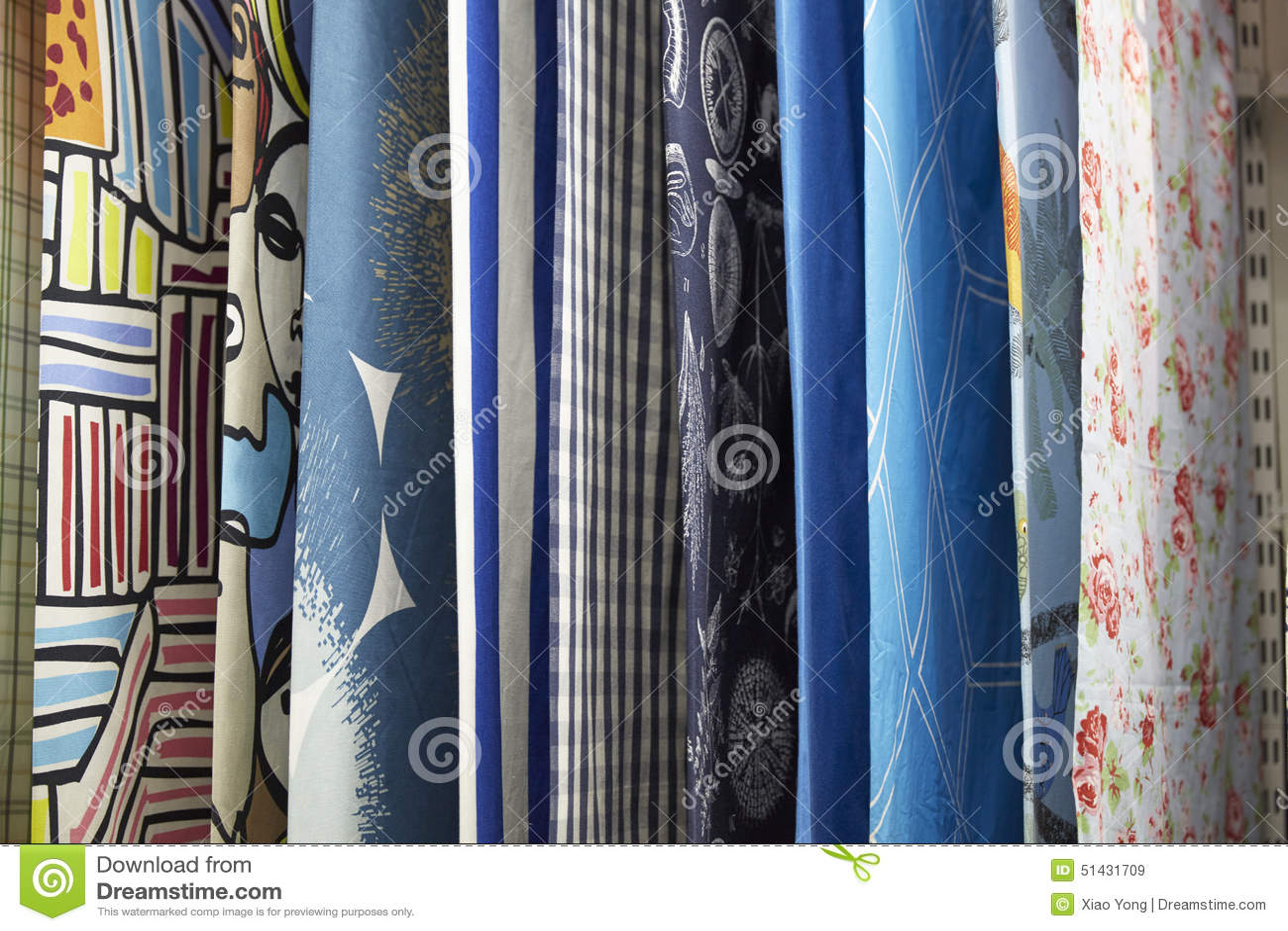 Kleurrijke Gordijnen Royalty-vrije Stock Foto - Afbeelding: 8552705