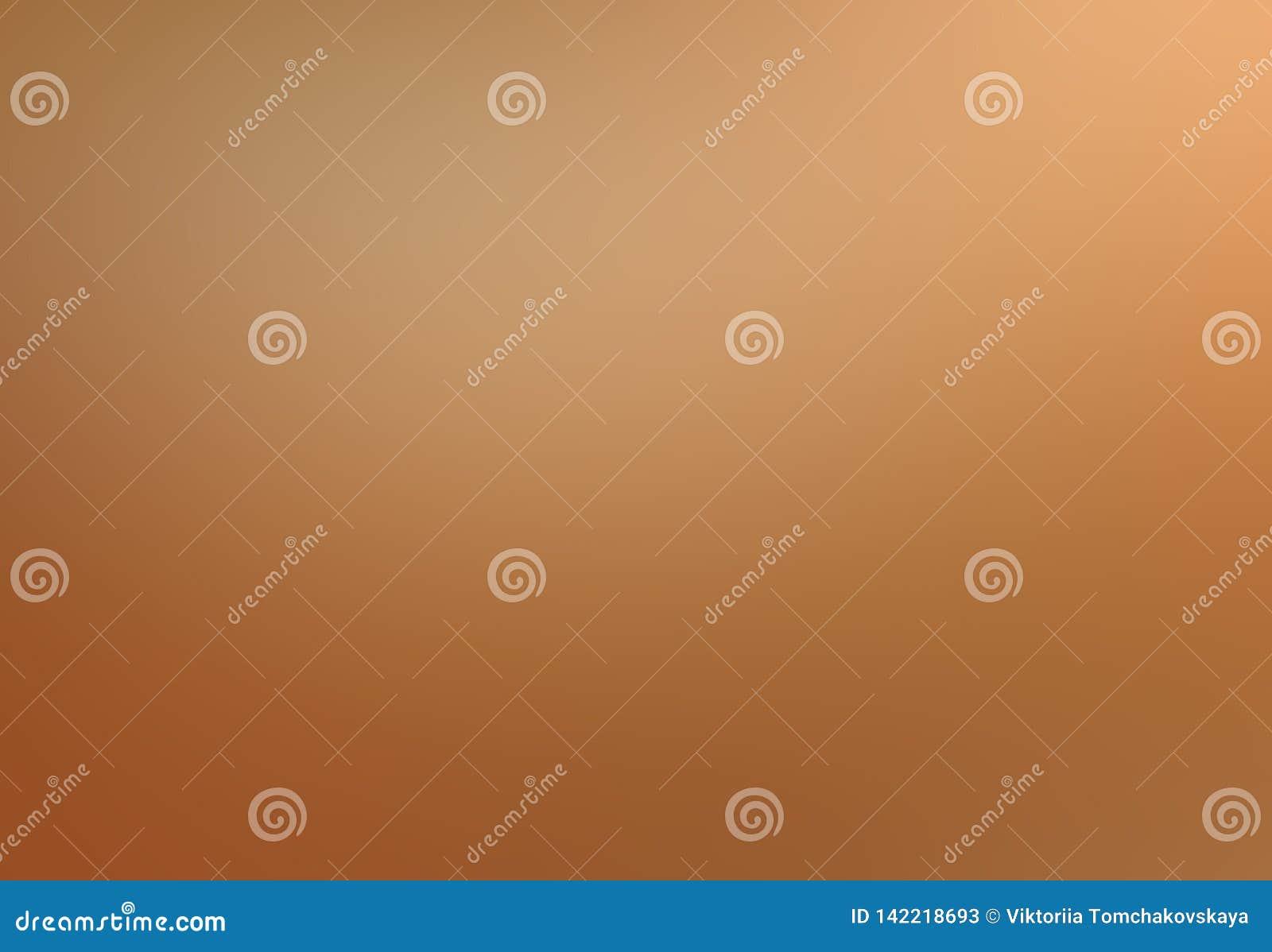 Zachte perzikachtergrond Oranje gradiënt vage pastelkleur