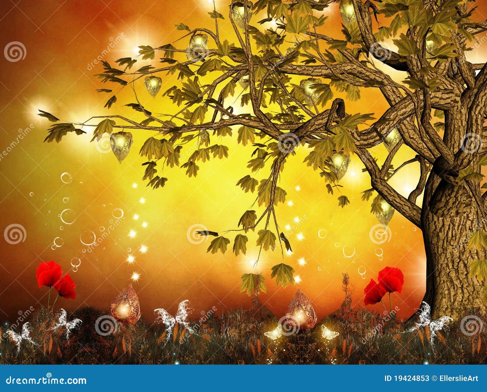 Zaczarowany drzewo