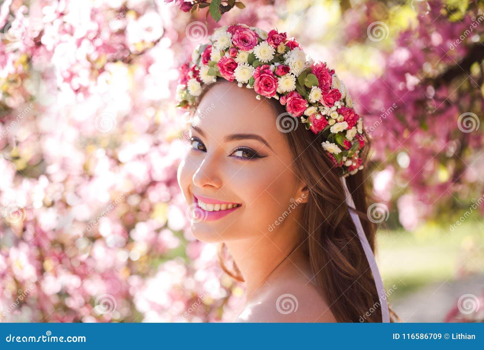 Zadziwiający naturalnej wiosny piękno