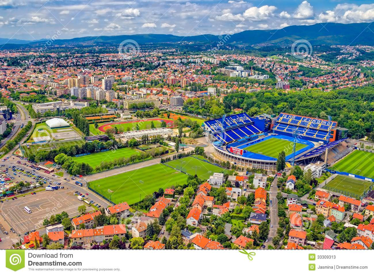 Maksimir Croatia  city photos : ZAGREB, CROATIA MAY 26: Maksimir stadium is official field for ...