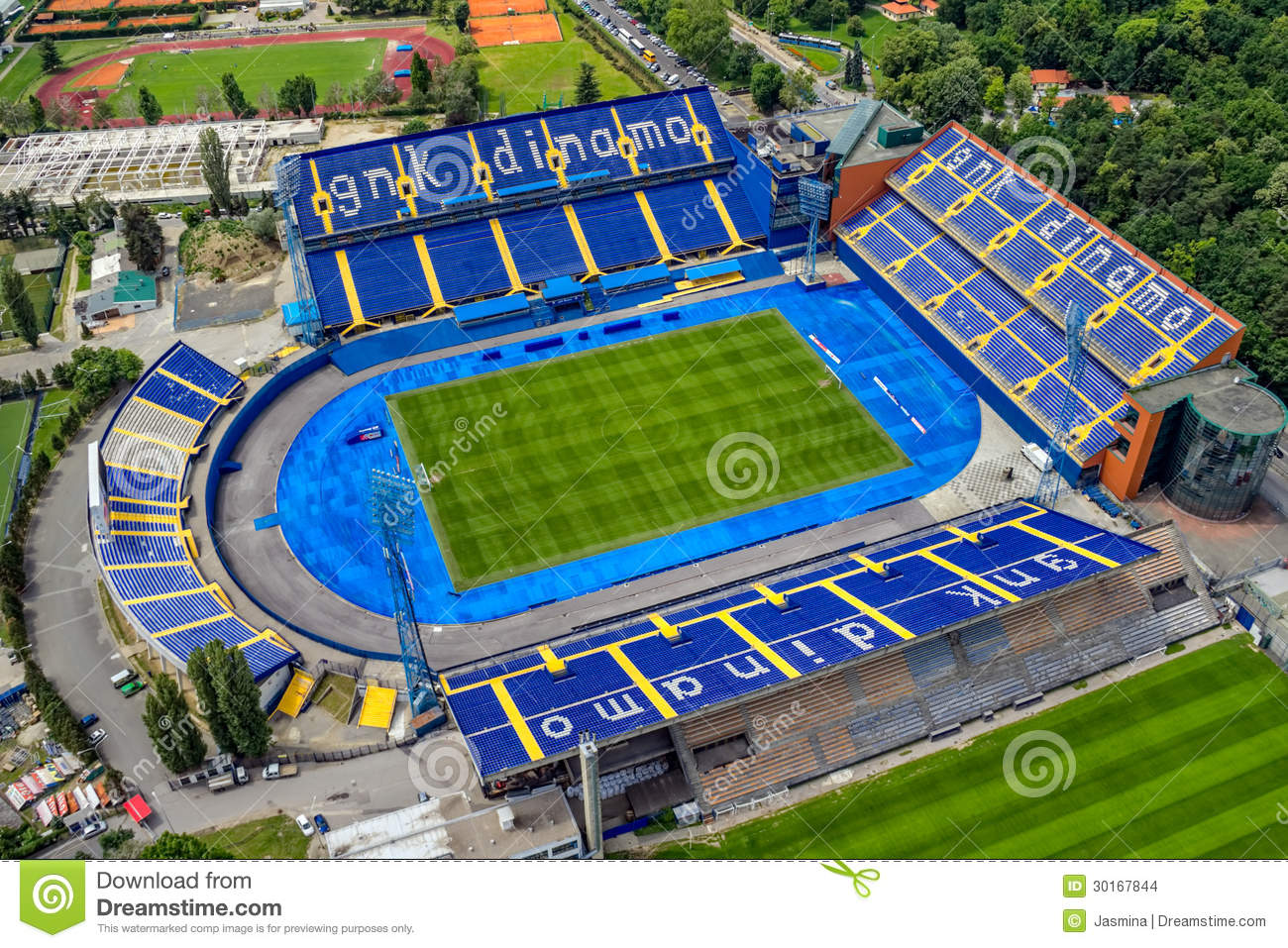 Maksimir Croatia  city photos gallery : ZAGREB, CROATIA MAY 26: Maksimir stadium is official field for ...
