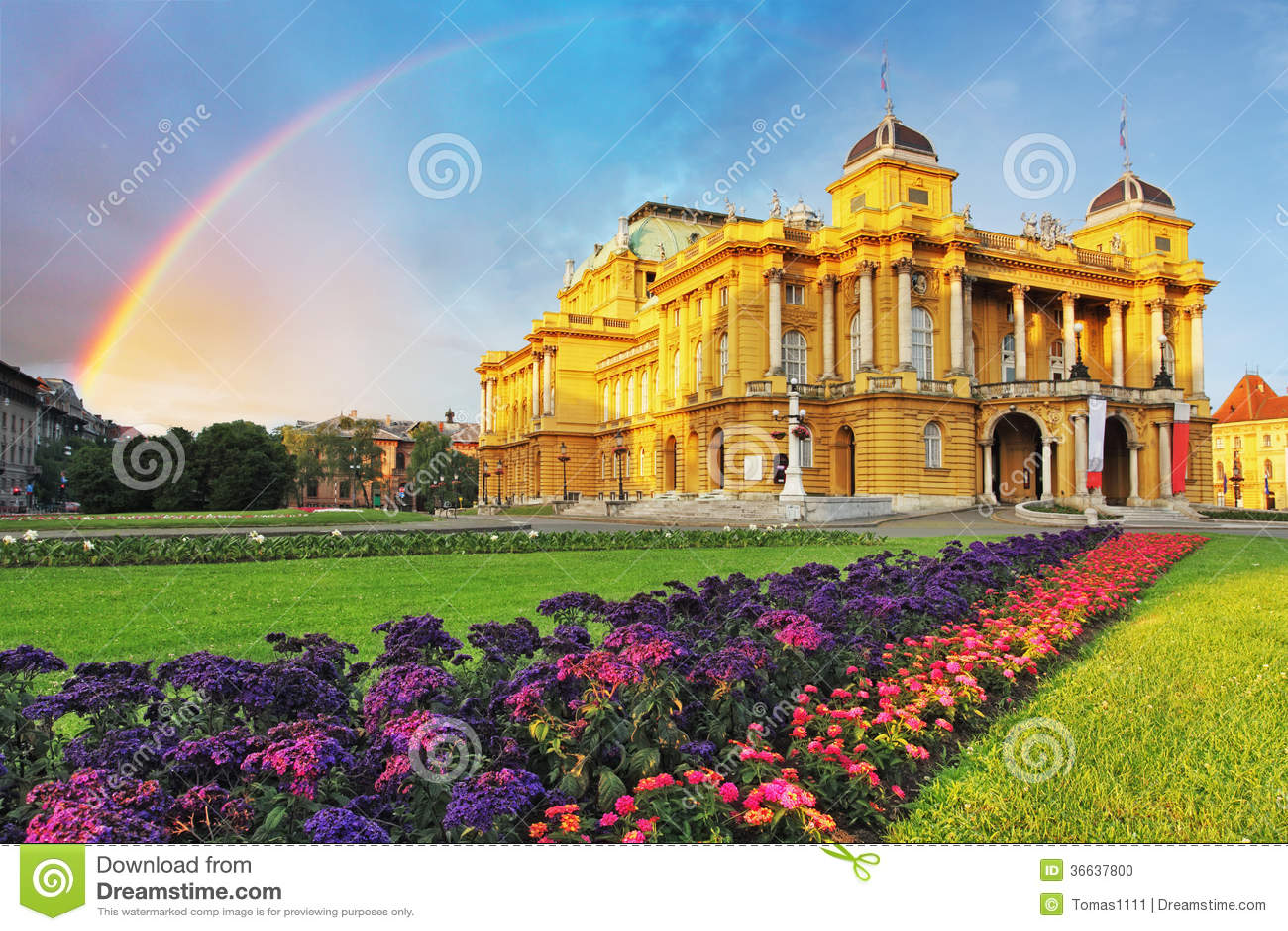Zagreb - Kroatische Nationale Theate