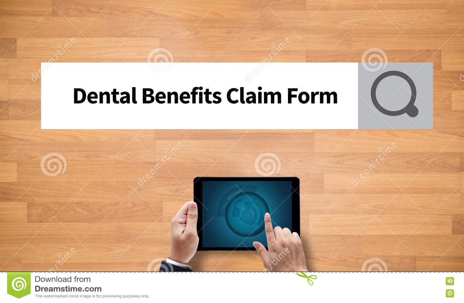 Zahnmedizinisches Nutzen-Antragsformular-Dokument zahnmedizinisch