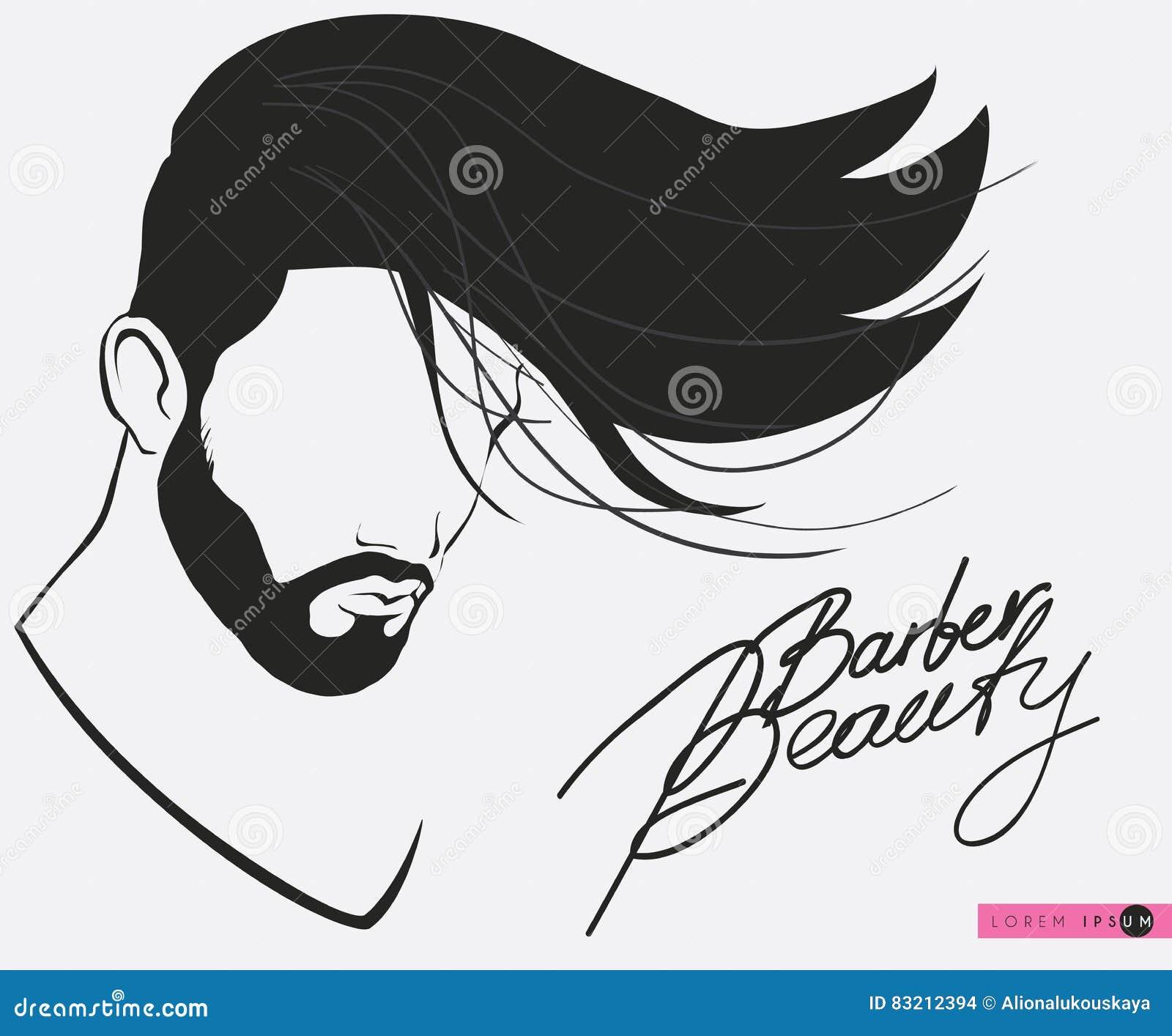 Zakład Fryzjerski Brody Wąsy Fryzura Modnisia Zakładu