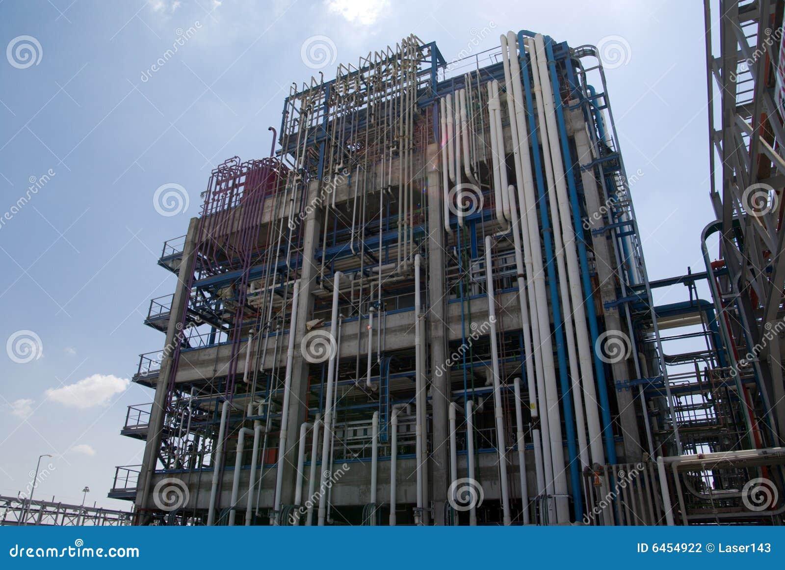 Zakład produkcyjny chemicznego