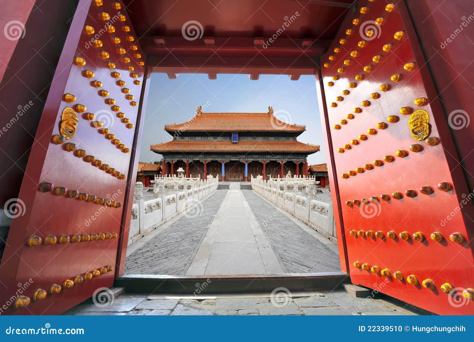 Zakazujący Beijing miasto
