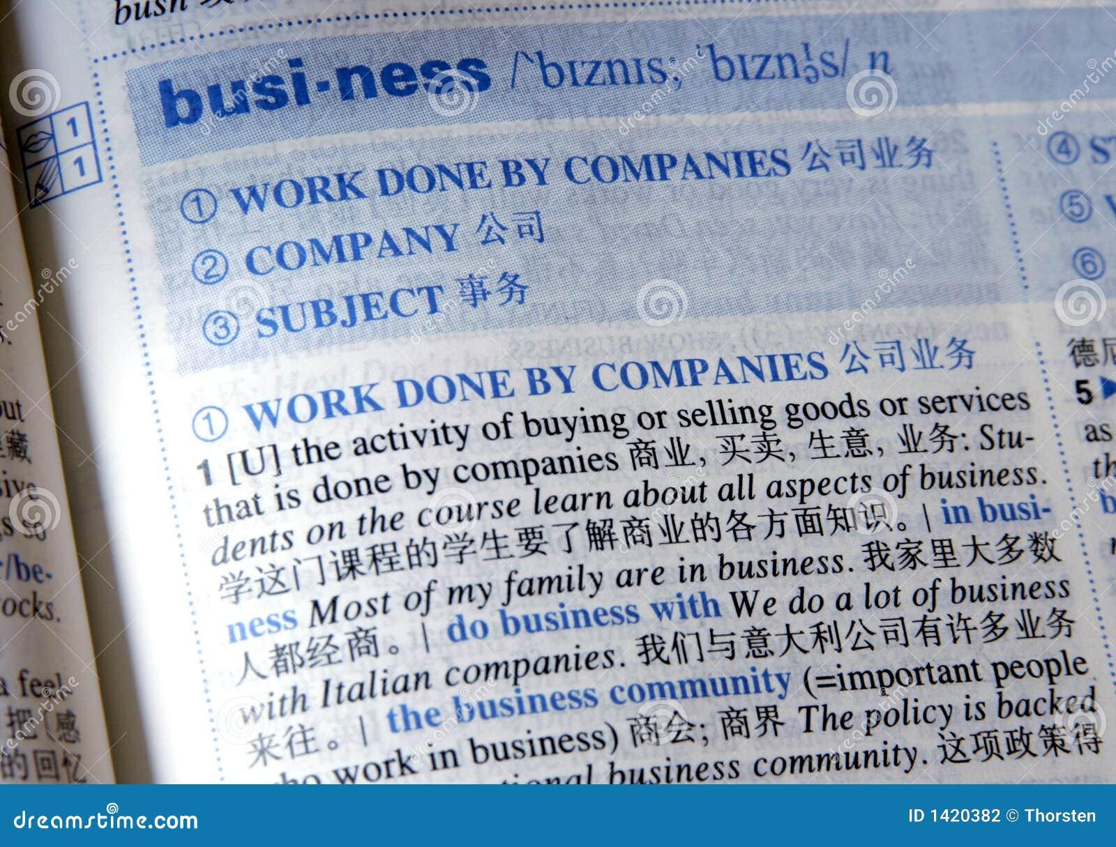 Zaken in China