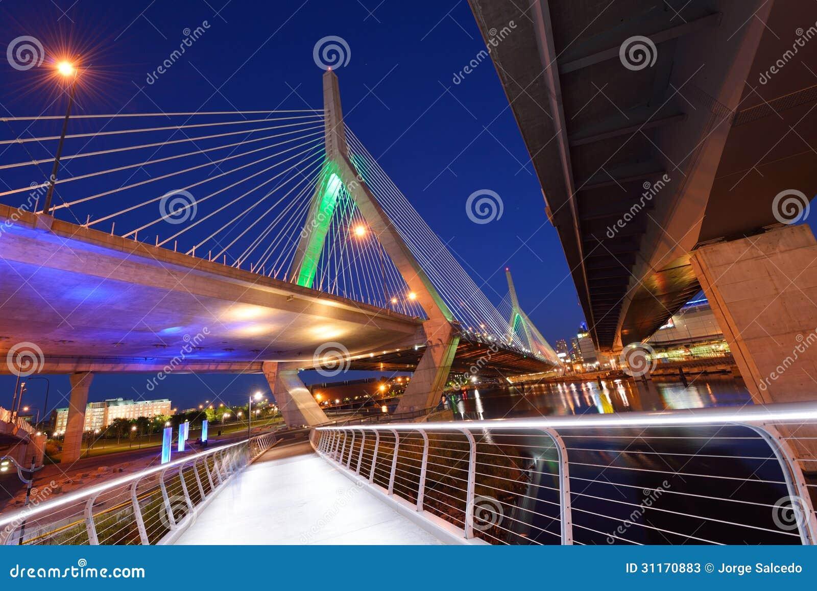 Zakim Bridge Stock Image Image Of Copy Connect