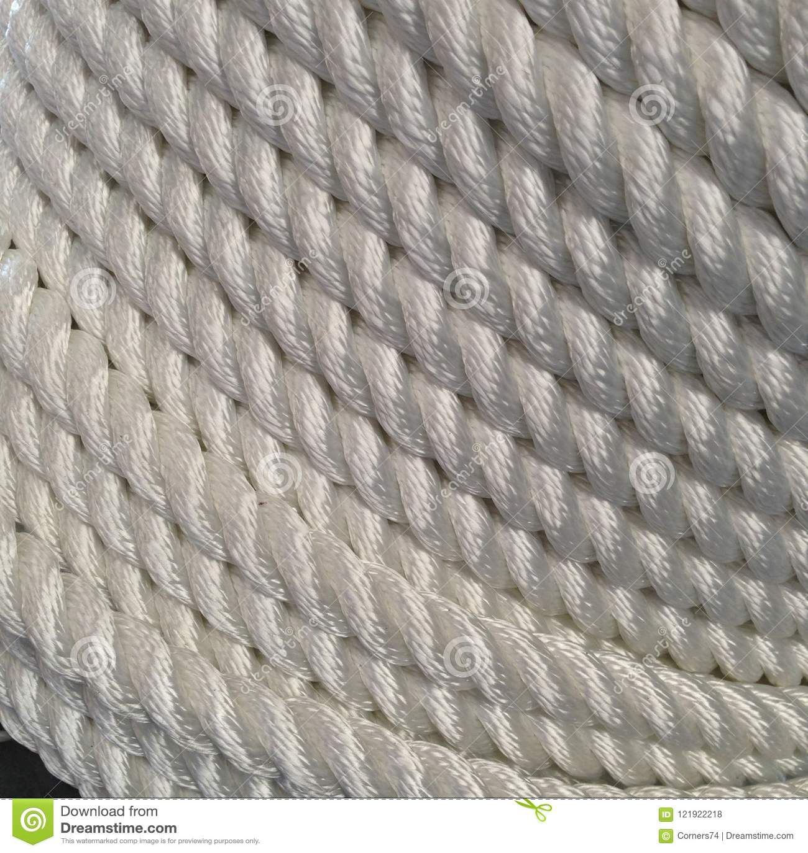 Zakończenie warkocz linowa rolka, używać dla łódkowatych cumowniczych linii