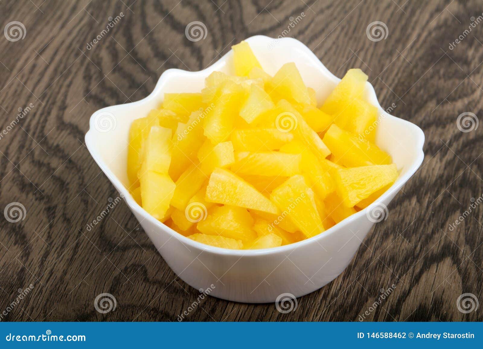 Zakonserwowany ananas