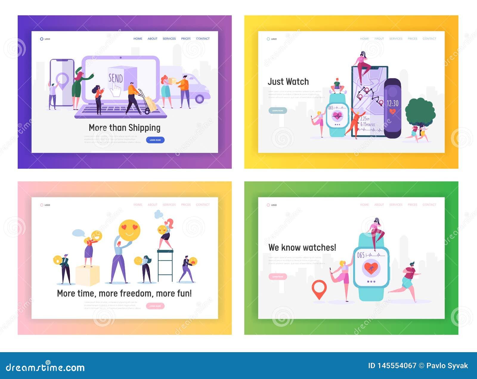 Zakupy, dostawa, opieka zdrowotna i socjalny zastosowań strony internetowej lądowania strony Medialni szablony Ustawiający, lu