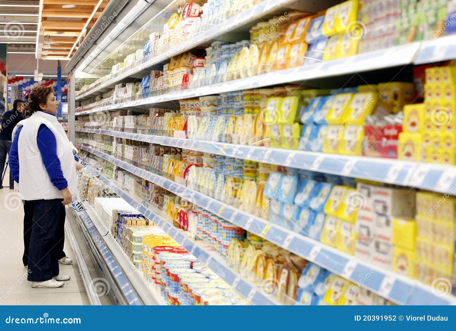 Zakupy supermarketa kobiety