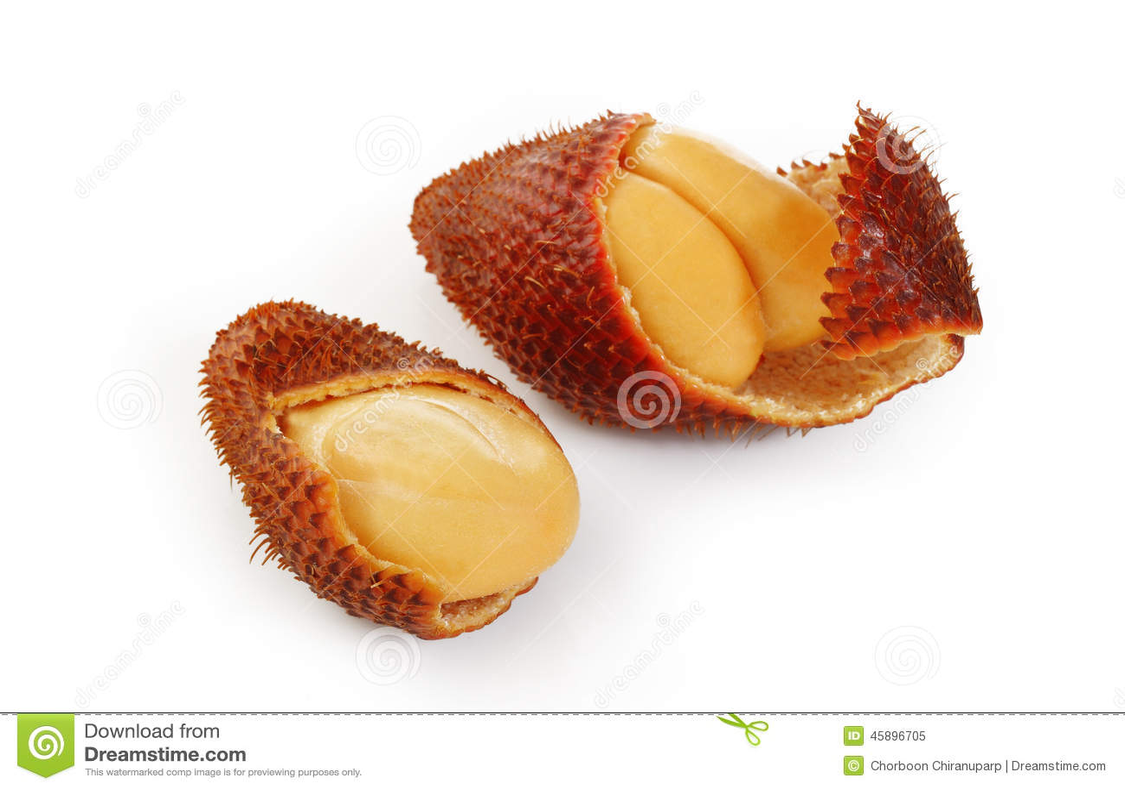 Zalacca frukt