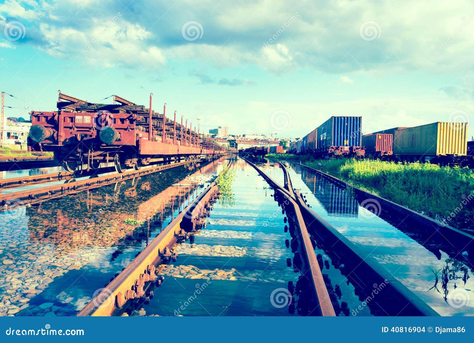 Zalewający pociągi