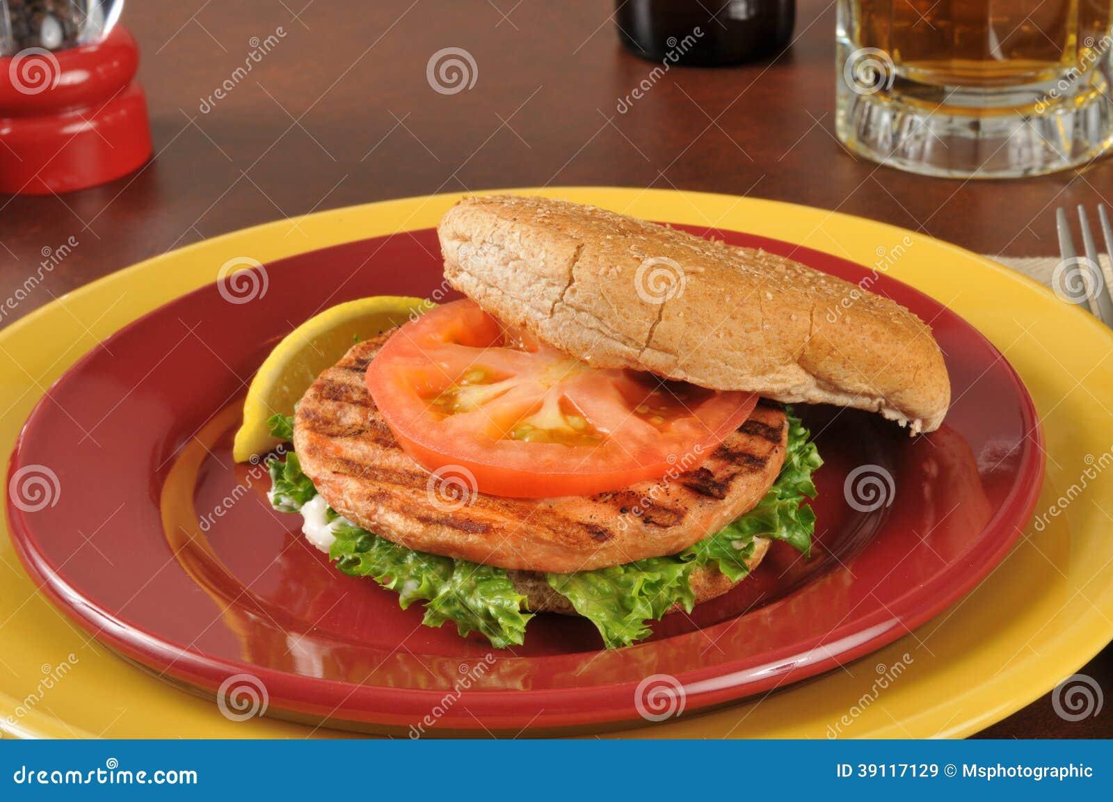Zalmhamburger
