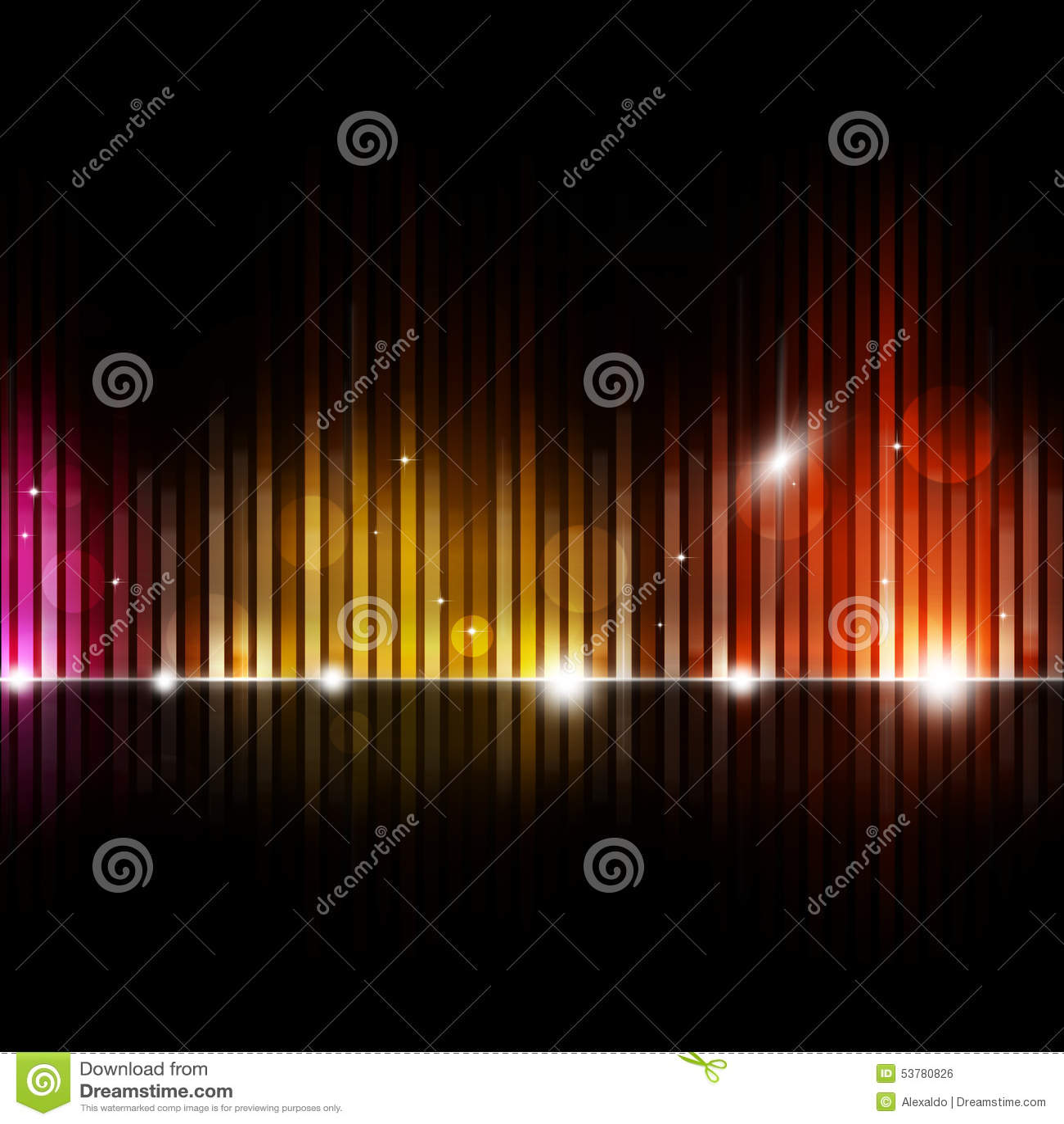 Zamazany wyrównywacz muzyki tło