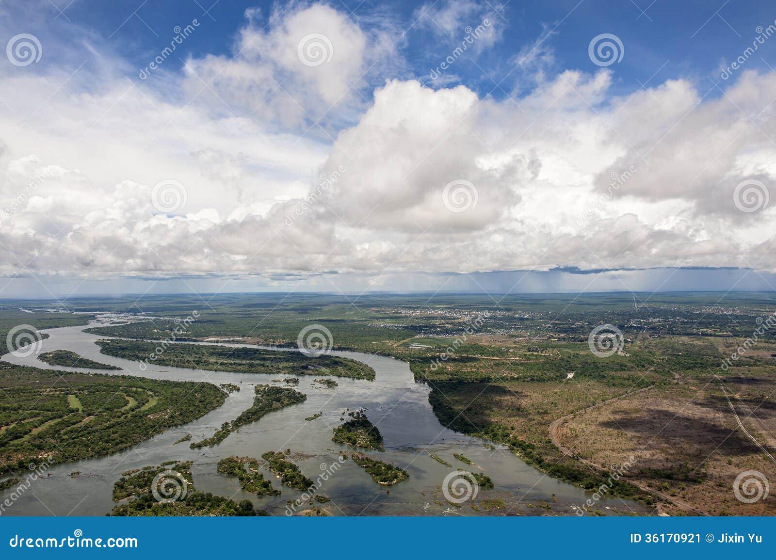 Zambezi river na zâmbia
