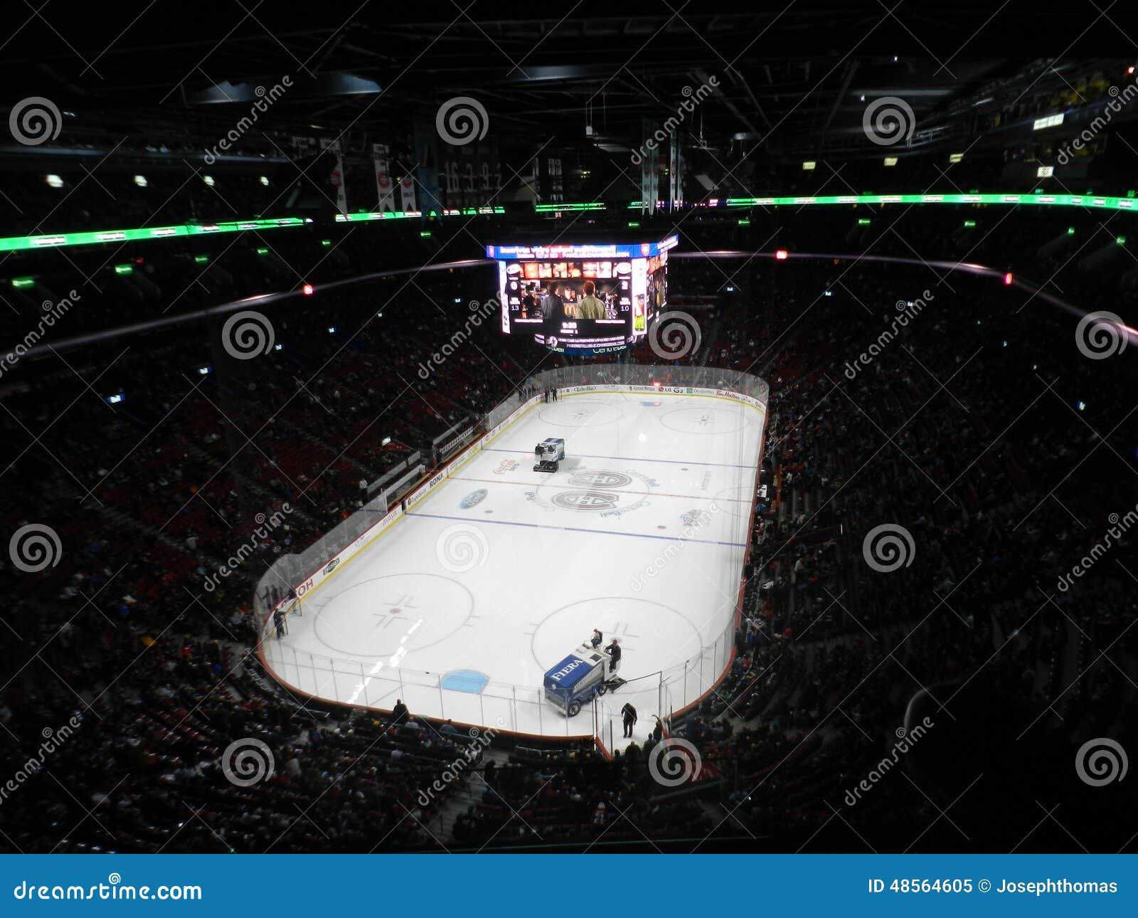 Hockey Nhl Professional Sports Zamboni In Nhl Game Of