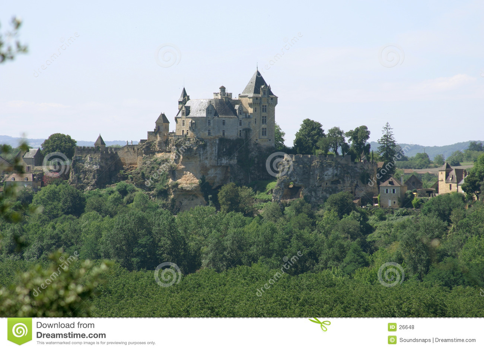 Zamek Dordogne France