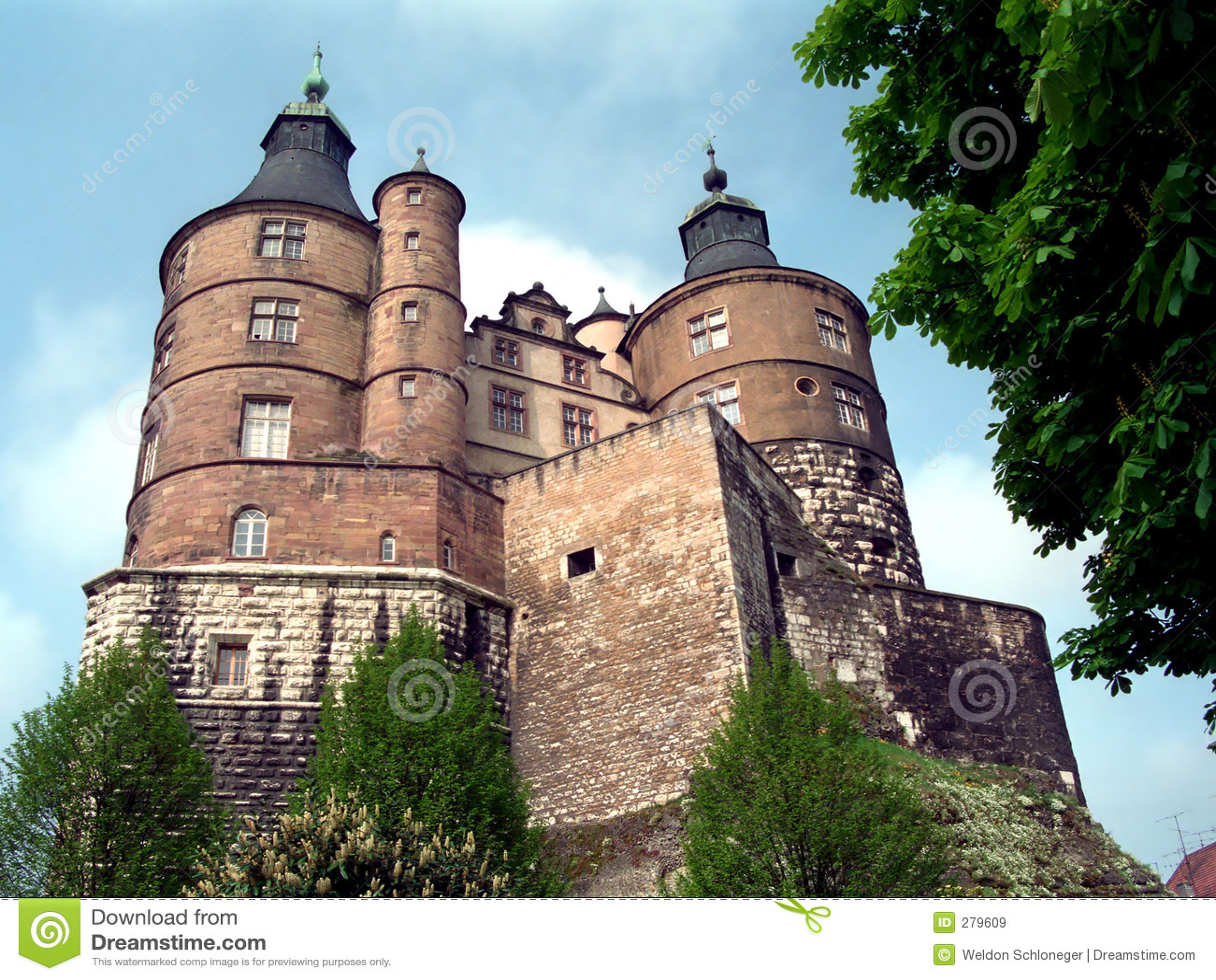 Zamek montbeliard