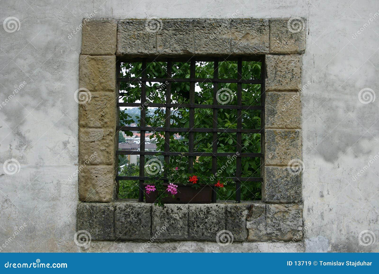 Zamek okno