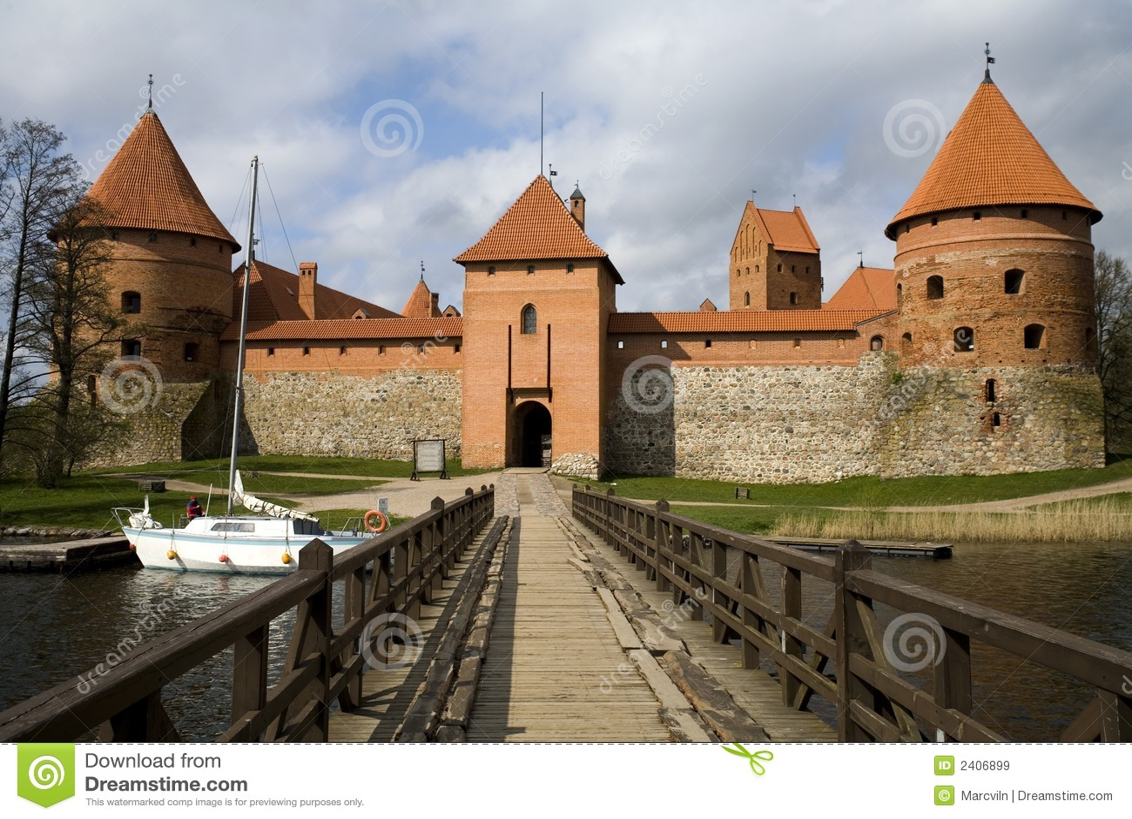 Zamek trakai
