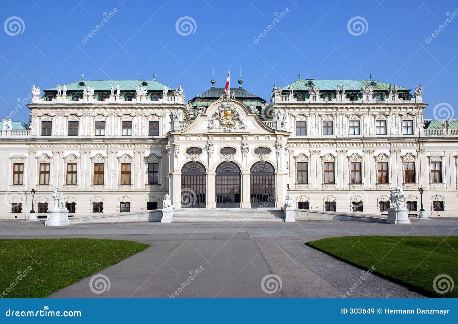 Zamek Vienna belvedere