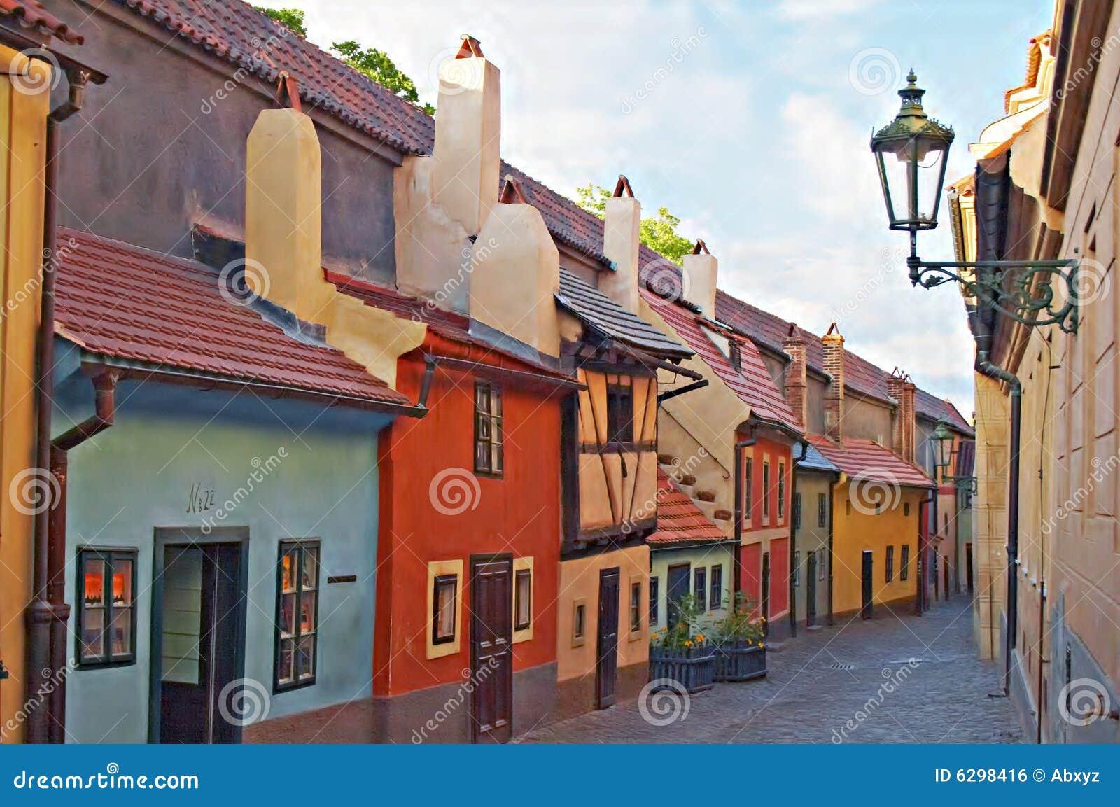 Zamek złoty pas Prague