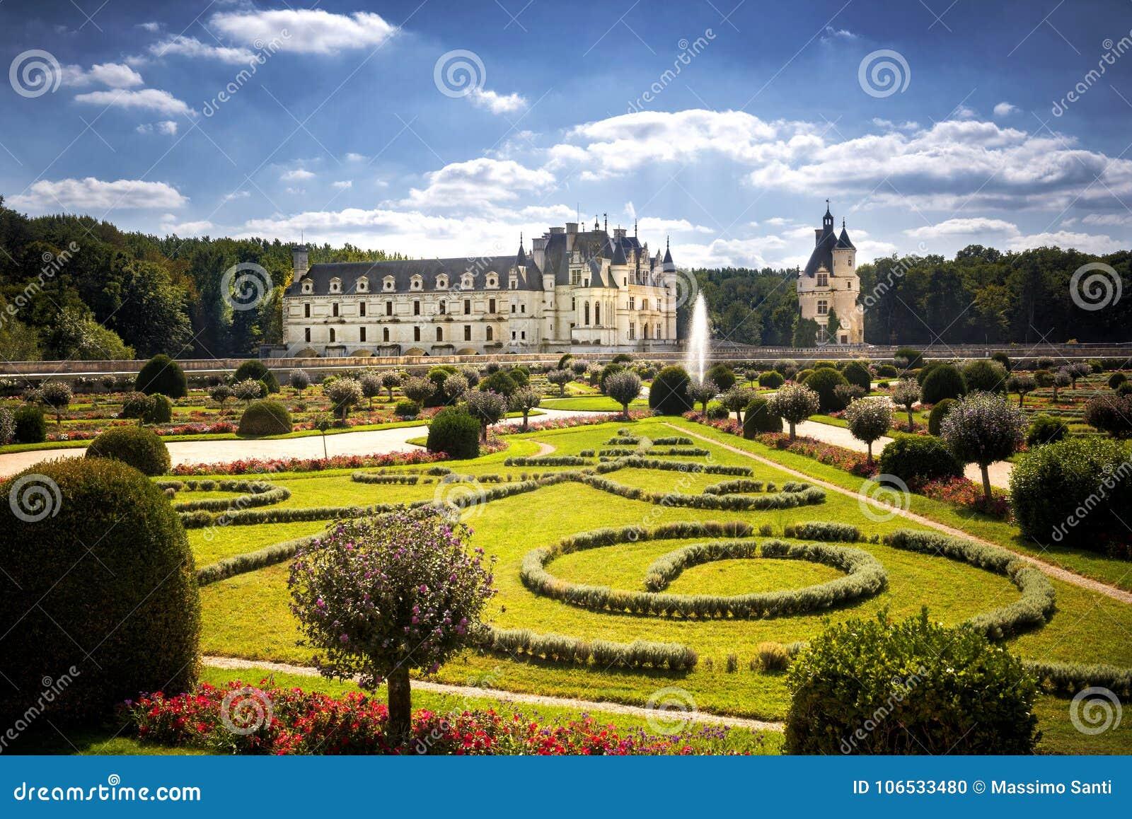 Zamku de France chenonceau Loire valley
