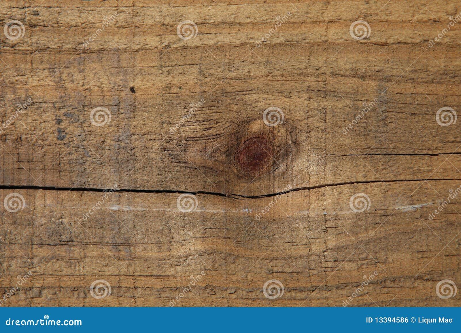Zamyka krakingowego zbożowego fiszorka tekstury drewno