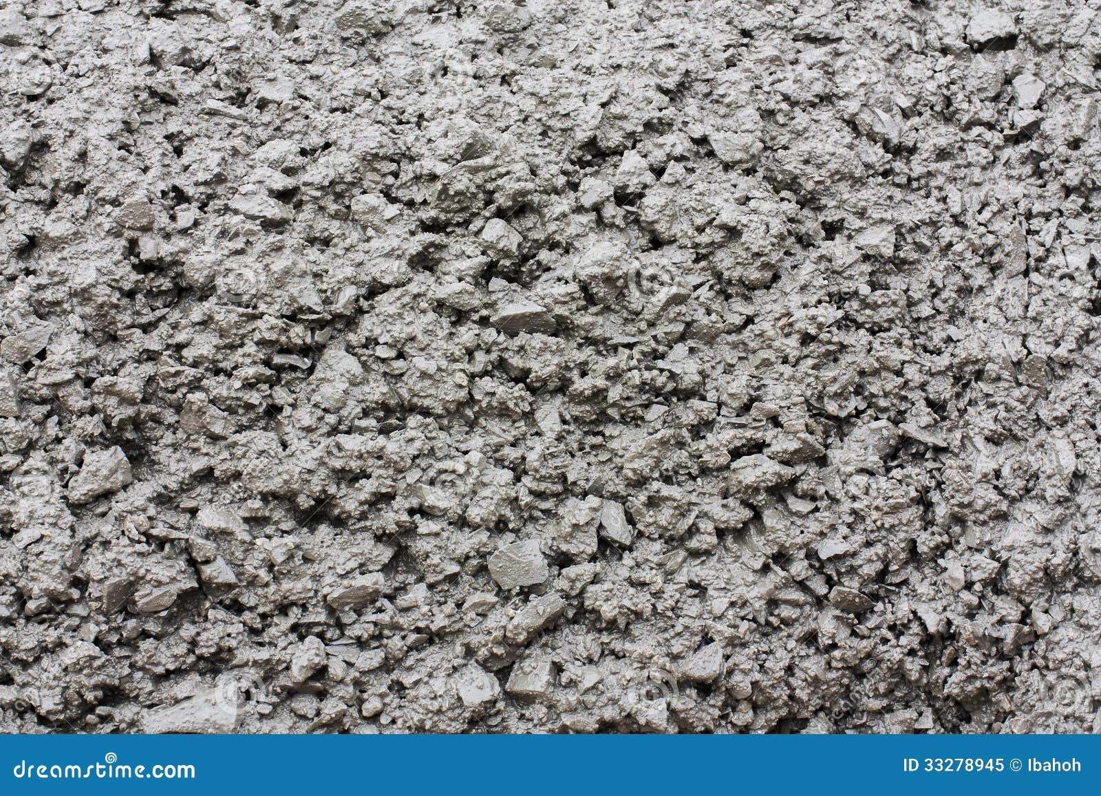 Zamyka up świeży beton