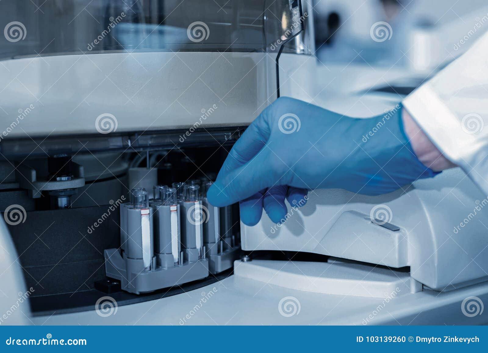 Zamyka up fachowy sprzęt medyczny